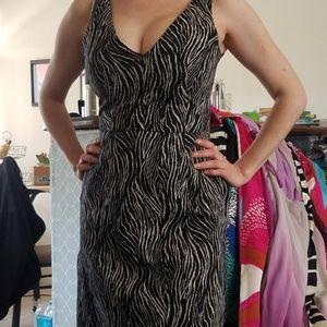 H & M Animal Print Dress Size 4